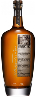 Masterson's Rye Whiskey 10 Year 750ml